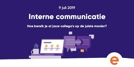 Training: Interne Communicatie tickets