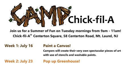 Camp Chick-fil-A Centerton Sq tickets