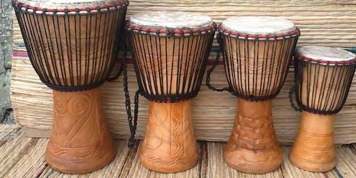 JUMP IN! Children's Workshops - Hand Drumming