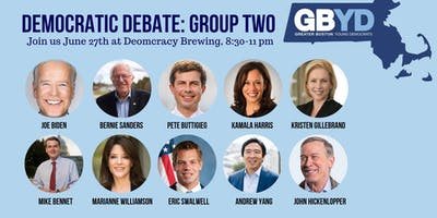 GBYD Democratic Debates: Group Two