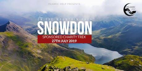 Snowdon- On the mountain path tickets