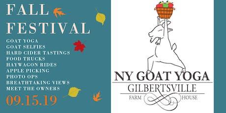 FALL FESTIVAL at NY Goat Yoga! tickets