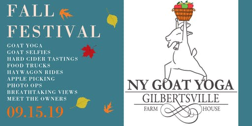 FALL FESTIVAL at NY Goat Yoga!