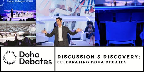 Discussion & Discovery: Celebrating Doha Debates tickets