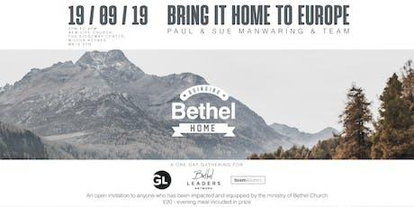 Bringing Bethel Home tickets