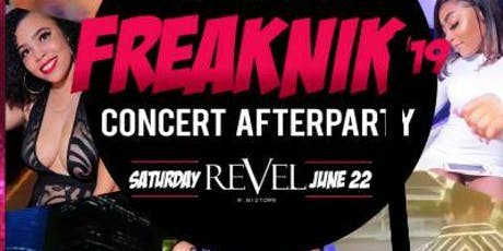 THE OFFICIAL FREAK NIK AFTER PARTY W/ SUPRISE CELEBRITY GUEST tickets