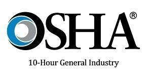 OSHA 10 Hour General Industry Certification