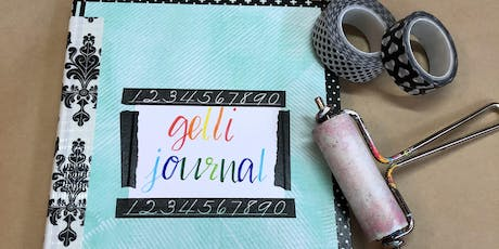 Gelli Journals- Print to Project tickets