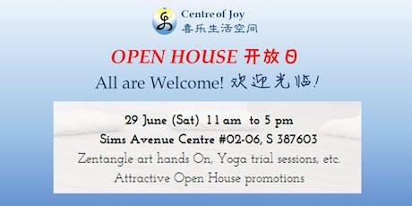 Centre of Joy Open House 喜乐生活空间开放日 tickets