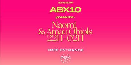 ABX presenta Naomi & Arnau Obiols entradas
