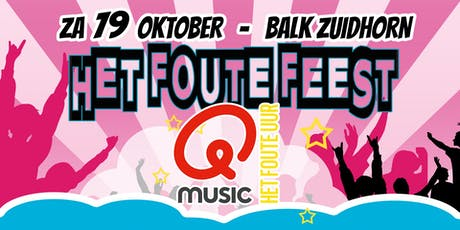 Foute Feest Zuidhorn tickets