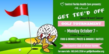 Central Florida Health Care 4th Annual Golf Tournament tickets