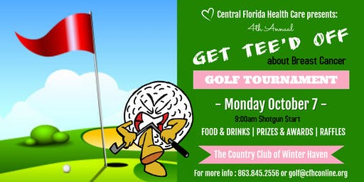 Central Florida Health Care 4th Annual Golf Tournament