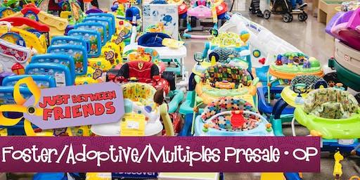 Foster, Adoptive, Multiples Presale (FREE)| Just Between Friends OP FALL