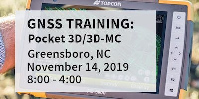 Pocket 3D / 3DMC Training -- Greensboro, NC