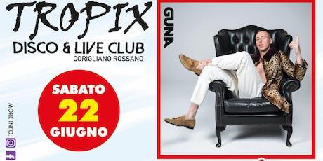 Ticket per Shade al Tropix Disco di Corigliano Rossano, sabato 22 giugno 2019. biglietti
