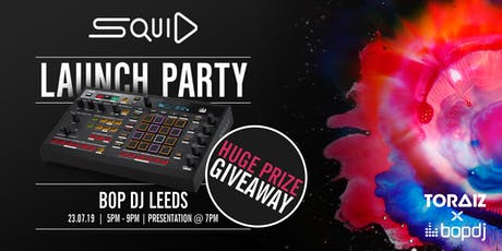 TORAIZ SQUID Workshop | Bop DJ Leeds tickets