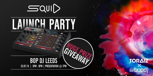 TORAIZ SQUID Workshop | Bop DJ Leeds