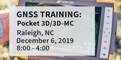 Pocket 3D / 3DMC Training -- Raleigh, NC