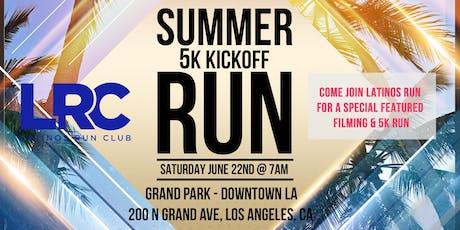 5k Run & Special Filming with Latinos Run & Univision LA tickets