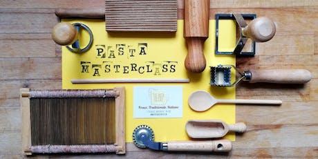 Pasta Masterclass tickets