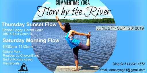 Summertime Yoga-Flow by the River