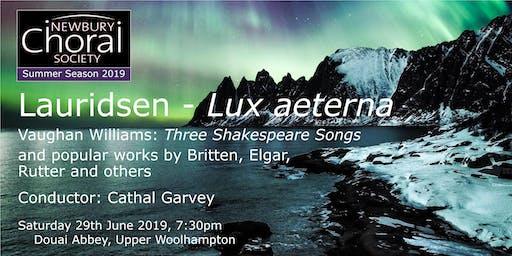 NCS Summer Concert - Lauridsen: Lux aeterna