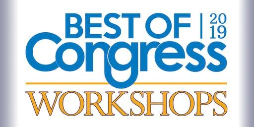 2019 Best of Congress Workshop (Philadelphia)