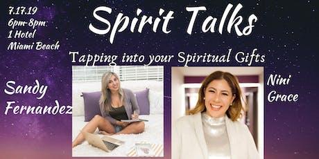 Spirit Talks Summer Series tickets
