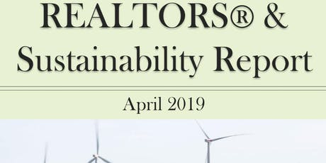 Smart, Simple, Sustainable: Trends from the 2019 REALTORS & Sustainability Report - Free CE Webinar tickets