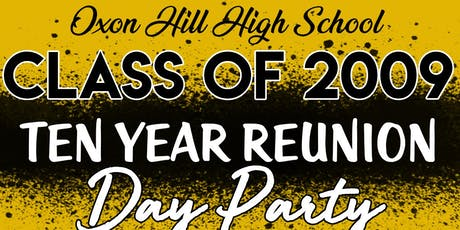 Oxon Hill Class of 2009 Day Party @ Topgolf tickets