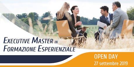 Open Day // Executive Master in Formazione Esperienziale Edizione 2020 biglietti