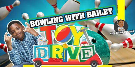 Bowling with Bailey Toy and Book Drive