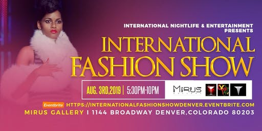 International Fashion Show 2019