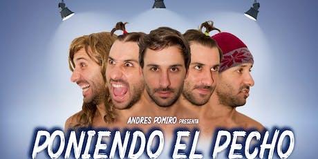"""PONIENDO EL PECHO """"SAN JUAN"""" entradas"""