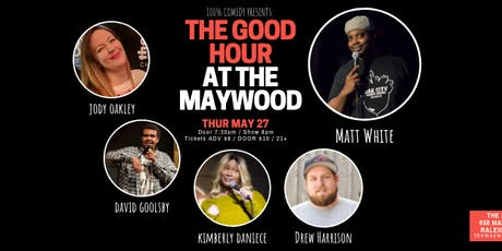 100% Comedy: The Good Hour (JUNE) tickets