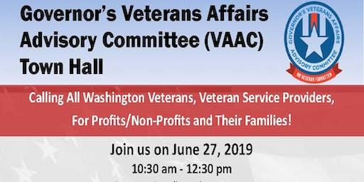 Veterans Town Hall - Governor's Veterans Affairs Advisory Committee (VAAC)