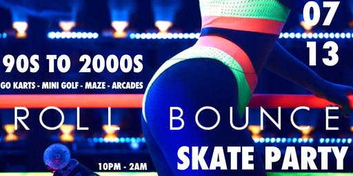 #ROLLBOUNCE919 : 90'S TO 2000'S  SKATE PARTY