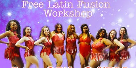 ACDC LADIES Free Latin Fusion Workshop  tickets