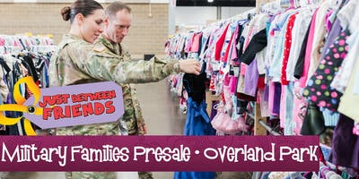 Military Presale (FREE) | Just Between Friends Overland Park Fall Sale
