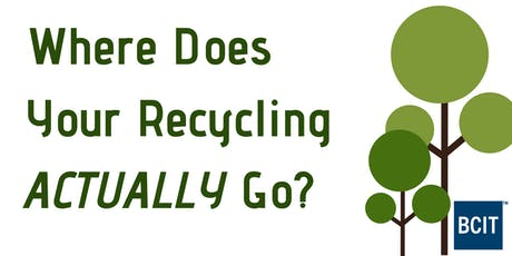 Where Does Your Recycling Go? tickets