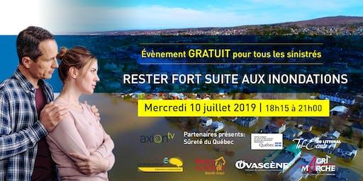 Conférence pour les SINISTRÉS : Rester fort suite aux inondations !