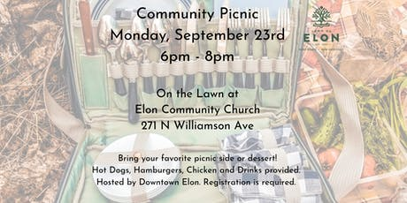 Community Picnic tickets