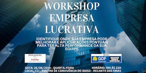 WORKSHOP EMPRESA LUCRATIVA