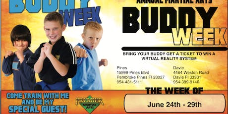 Pembroke Pines Buddy Week June 24th thru 28th tickets