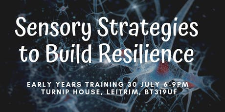 Sensory Strategies to Build Resilience in the Early Years tickets