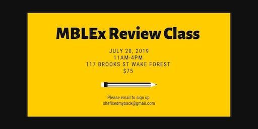 MBLEx Prep Class