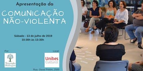 Apresentação da Comunicação Não-Violenta - Unibes Cultural - Metrô Sumaré ingressos
