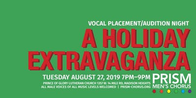 PRISM Fall 2019 Vocal Placement Night