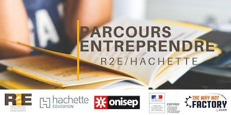 Lancement du  concours Parcours Entreprendre et de  l'Appel à projet billets
